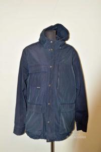 Vest Light Man Woolrich Size L Original Blue