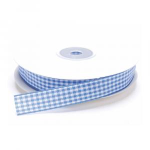 Nastro a quadretti azzurro carta da zucchero