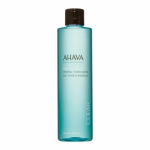 TIME TO CLEAR AHAVA Mineral Toning Water Acqua detergente viso, Tonico viso