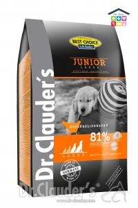 Dr. Clauder's - Junior Pollo Large 4kg/12,5kg