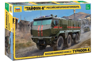 Russian Armored Vehicle Typhoon-K