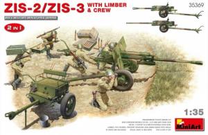 ZiS-2/ZiS-3 with Limber & Crew
