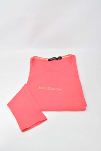 T-shirt Woman Butx& Co Size.s Color Coral In Wool