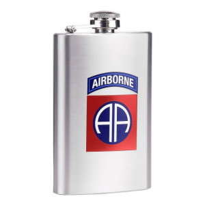 Fiaschetta acciaio inossidabile 5 oz 82nd Airborne