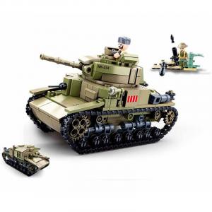 Sluban Medium Italian tank 2in1 M38-B0711