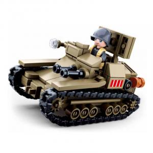Sluban Small Italian tank M38-B0709