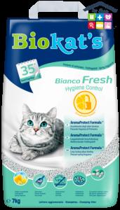 Biokat's | Bianco Fresh - Lettiera agglomerante per Gatti / 10 Kg quantità minima acquistabile 5