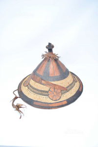 Hat Hand Made Leather Type Chinese From Risaia