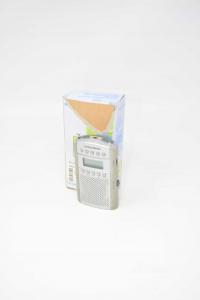 Radio Portatile Grundig Grigia Con Antenna (no Cuffie)