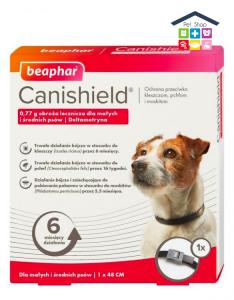Beaphar | Canishield - Collare antiparassitari per Cani / Taglia Piccola/Media - 48 cm
