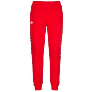 Kappa Pantalone Banda Cheron Rosso da Uomo