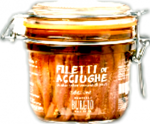 Anchovy fillets Fratelli Burgio, 200gr