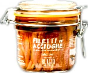 Filetti di Acciughe Fratelli Burgio , 200gr