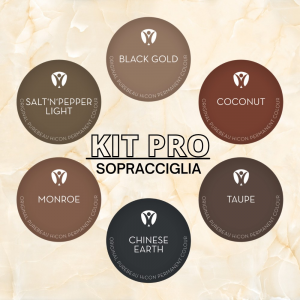 Kit Pro Pigmenti sopracciglia PMU Purebeau