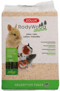 Zolux - Rody Wood Lettiera con Trucioli di Pino