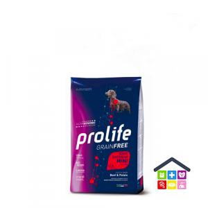 Prolife | Linea Sensitive GRAIN FREE | Adult Mini - Manzo e Patate / 600gr - 2kg - 7kg