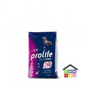 Prolife | Linea Sensitive GRAIN FREE | Adult Mini - Maiale e Patate / 600gr - 2kg - 7kg