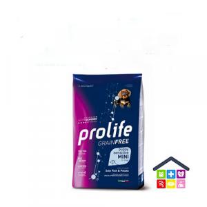 Prolife | Linea Sensitive GRAIN FREE | Puppy Mini - Sogliola e Patate / 600gr - 2kg -7KG