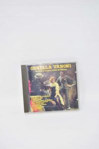 Cd Music Ornella Vanoni Recital - Theater Lirico Of Milan