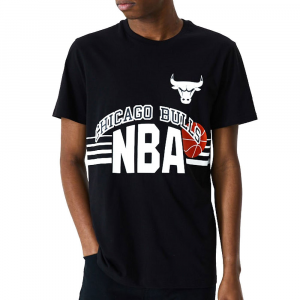 New Era T-Shirt Chicago Bulls da Uomo