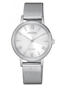 Citizen Lady, maglia milano acciaio quadrante grigio