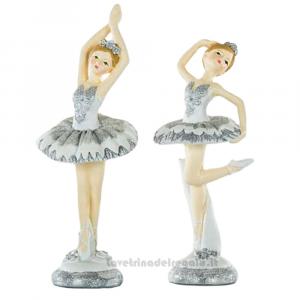 Statuina ballerina di Danza Classica in resina 17.5 cm - Bomboniere comunione bimba
