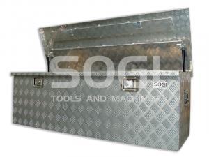 Baule portautensili porta attrezzi cassone SOGI BLE-148 in alluminio bauli