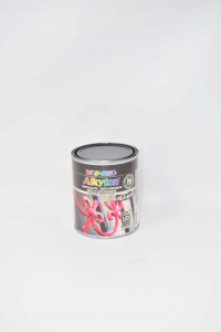 Jar Paint With Antiruggine Black Dupli Color 750 Ml