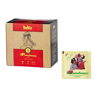 Caffè Passalacqua 50 cialde carta filtro miscela Helca