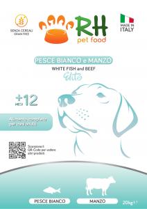 Pesce Bianco e Manzo grain free Elite+