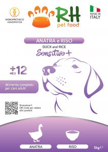 Anatra e Riso Sensitive+