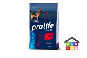 Prolife | Linea Smart | Adult Medium /Large - Manzo e Riso / - 12 kg