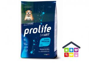 Prolife | Linea Smart | Puppy Medium - Pollo e Riso / 2,5 kg - 10 kg