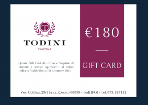 Gift Card 180