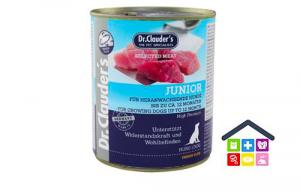 Dr. Clauder's | Umido Cane - Linea Immun Plus | Junior (fino a 12 mesi) / Scatoletta 400/800gr