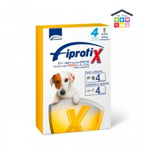 Formevet | Cane | FIPRATIX SPOT ON - TAGLIA PICCOLA 4-10kg / 67 Mg