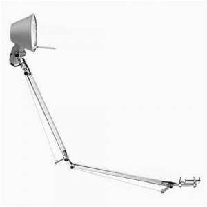 Lampada Da Tavolo Artemide Modello Tolomeo In Alluminio Con Morsetto Nuovo