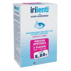 Irilenti con Acido Ialuronico Duopack