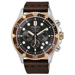Orologio cronografo uomo in acciaio Vagary collezione Aqua39 crono Limited Edition