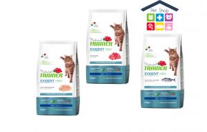 Trainer | Linea Natural Cat Dry | EXIGENT con Carni Bianche ,pesce azzurro,manzo/ 0,300 (Sacchetto)