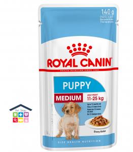 Royal Canin Cane | Linea Size HN | MEDIUM Puppy 140g Bustina