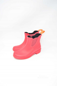 Ankle Boots Rubber Swims Red N° 36 New The