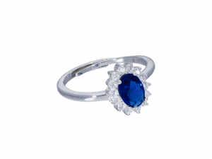 Anello Royal Blu