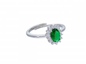 Anello Royal Verde