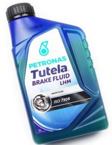 FLUIDO FRENI TUTELA LHM confezione LT 1, (colore verde)
