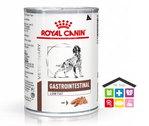 Royal Canin Cane | Linea VET | Gastro Intestinal Low Fat 410gr (lattina)