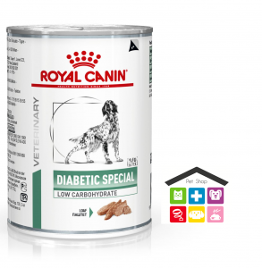 Royal Canin Cane | Linea VET | Diabetic Special Low Carbohydrate - 400 gr (lattina)