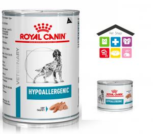 Royal Canin Cane | Linea VET | Hypoallergenic 200/400 Gr (lattina)