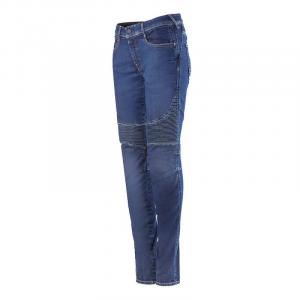Jeans moto donna Alpinestars STELLA CALLIE Mid Tone Plus Blu