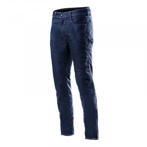 Jeans moto Alpinestars MERC Rinse Plus Blu